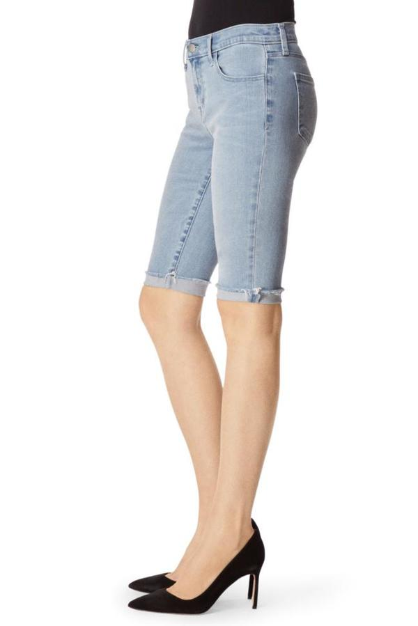 J Brand 811 Mid-Rise Bermuda Verity Short - Blue