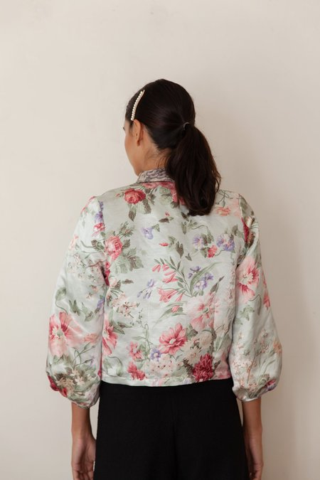 BEFORE MARCH Greta crop jacket - Garden floral