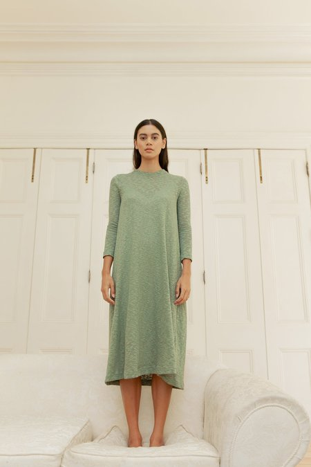 BEFORE MARCH Swing dress - Moss