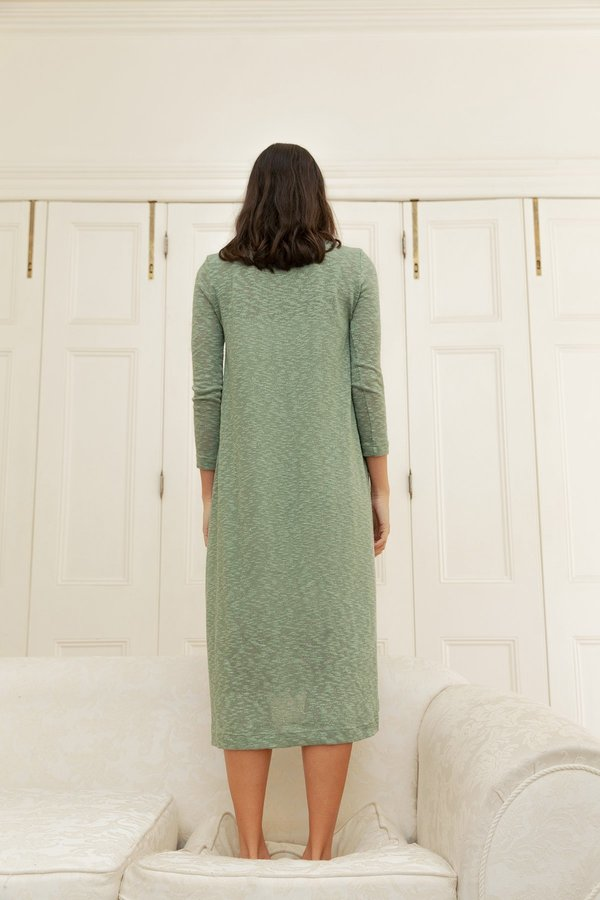 BEFORE MARCH Swing dress - Moss