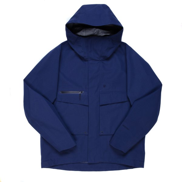 Goldwin Gore-Tex Mountain Jacket - Navy