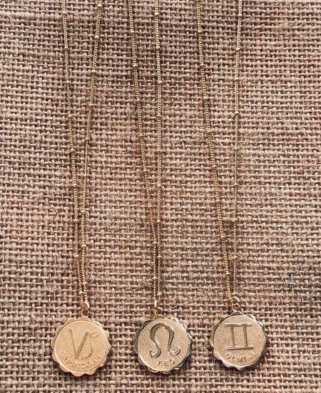 Frankie Zodiac Beaded Chain Necklace