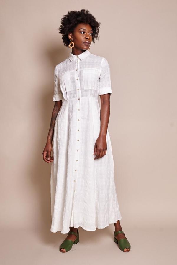 46ba62c5e8b3 Mara Hoffman Lorelei Dress - White | Garmentory