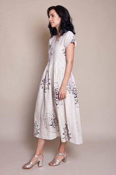 Maryam Nassir Zadeh Palma High Sandal - Moon Crinkle