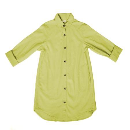 curator Work Shirt - citrus