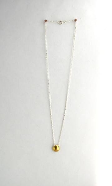 Machete Nomen Necklace with Dome