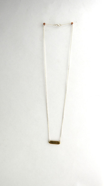 Machete Nomen Necklace with Signet