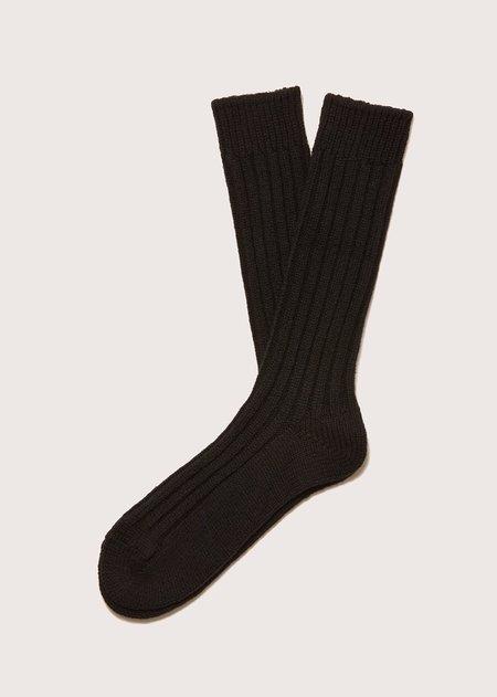 FEIT 3 Pack Wool Socks - BLACK