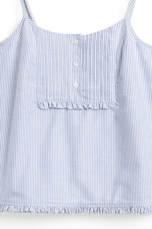 ... Pink Tuck Camisole Blue Oxford Stripe. sold out. The Sleep Shirt 603dfe9c3