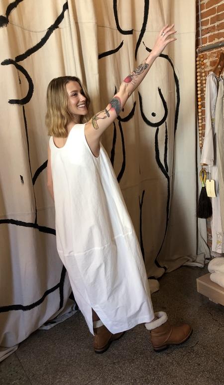Lauren Manoogian Vessel dress - white