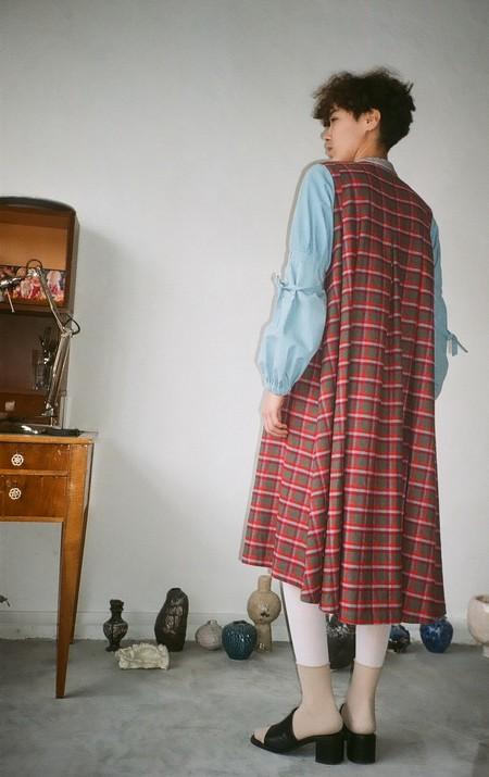 POLYHEDRON Canterbury dress