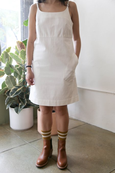 Carleen Charlotte Mini Dress - White