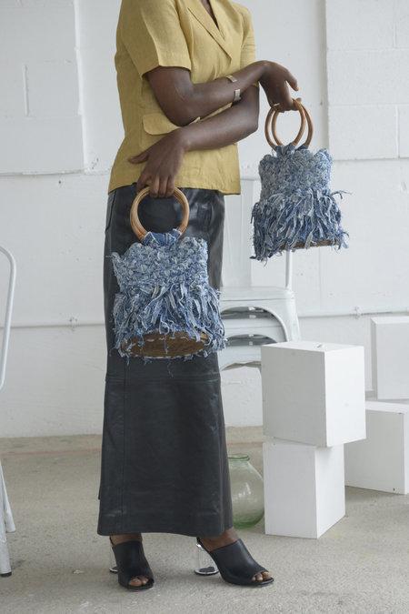 Siku Store Agyemang Upcycled Denim Bag