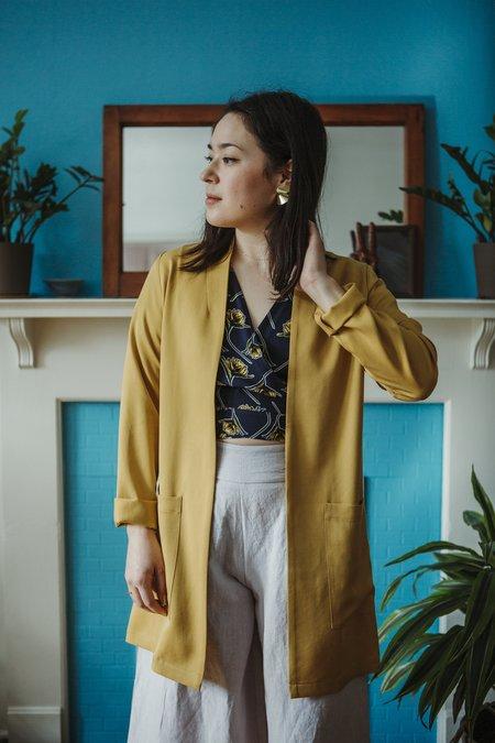 Amanda Moss Iris Blazer - Golden