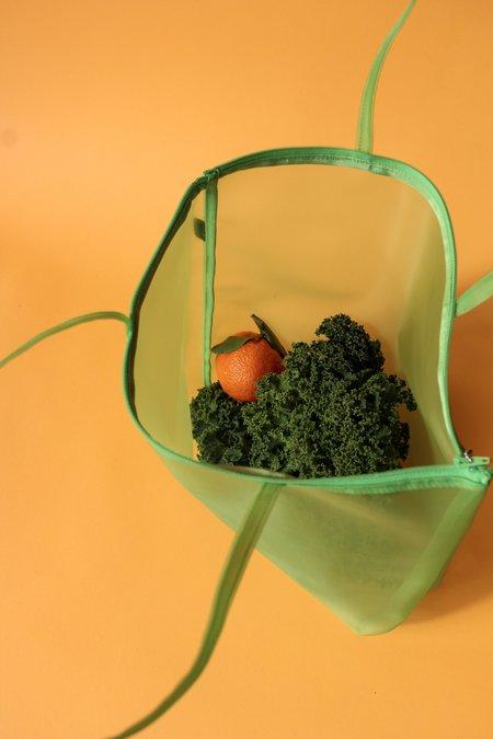 Walker Bags Zip Tote - Green