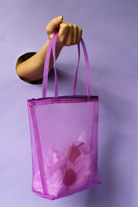 Walker Bags Zip Tote - Lilac