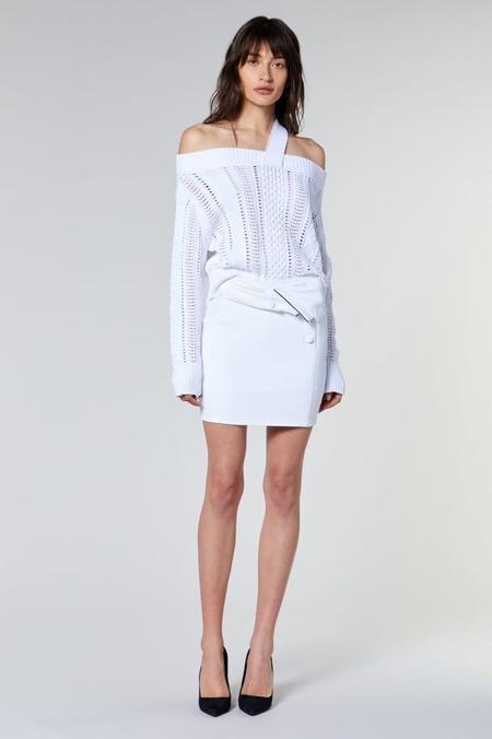 RtA BECKETT SWEATER - white