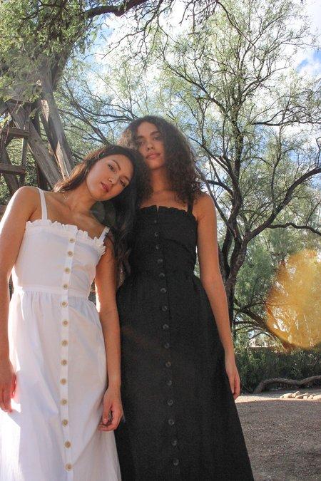 Avenue garden dress - black
