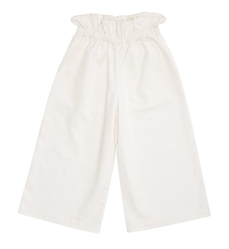 KIDS Bacabuche Paper Bag Trouser - Bleached Denim