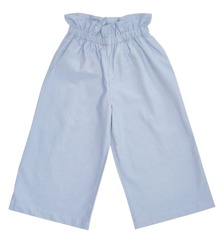 KIDS Bacabuche Paper Bag Trouser - Light Denim