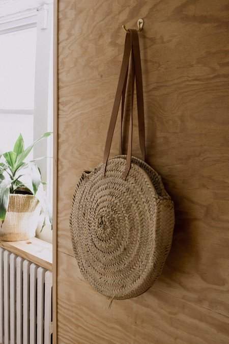 Woven Finds Roundie Bag