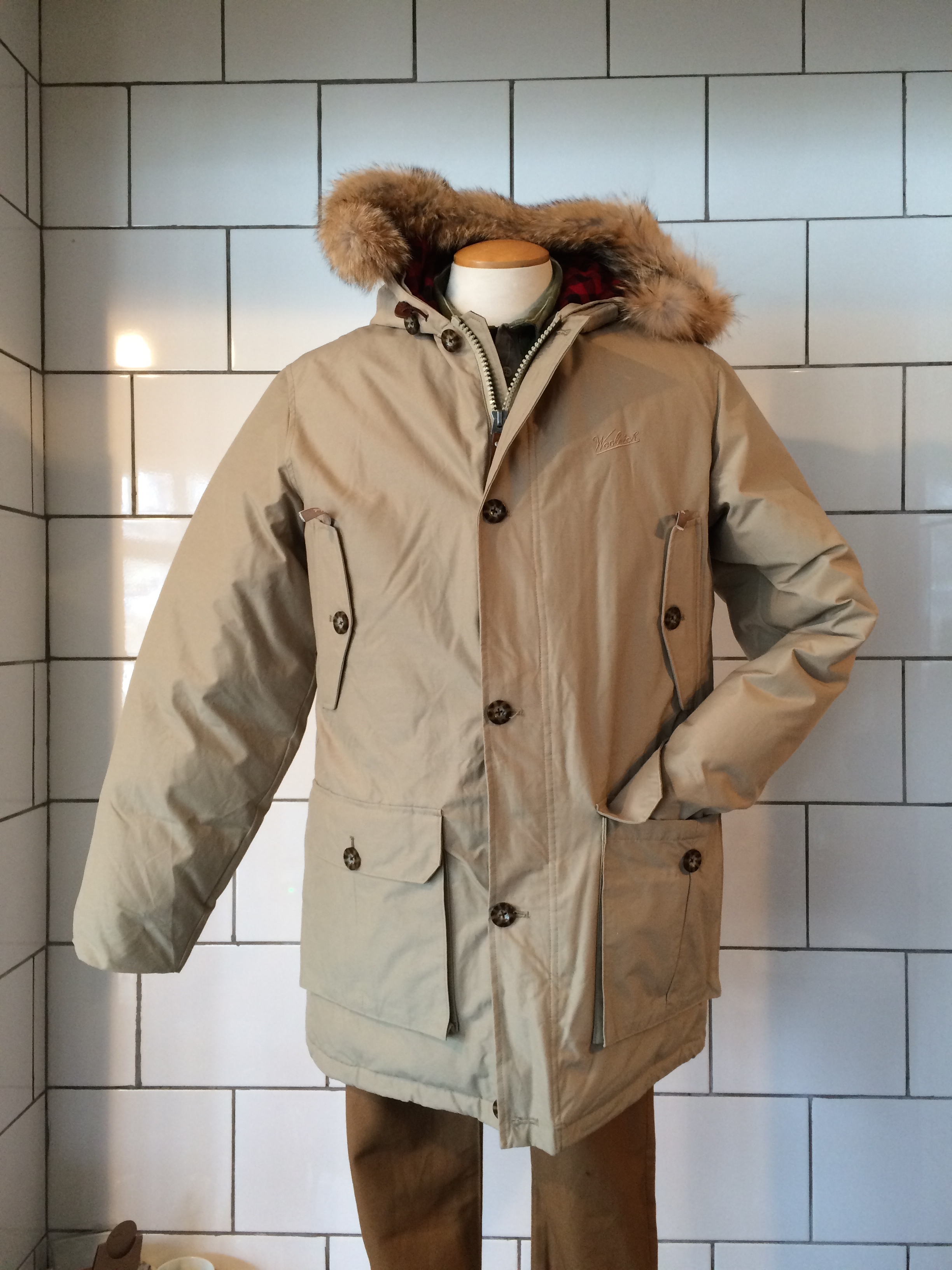 woolrich men 39 s arctic down parka from journeyman company. Black Bedroom Furniture Sets. Home Design Ideas