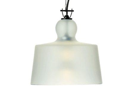 Michele de Lucchi ACQUATINTA SUSPENDED LAMP - SANDED MURANO GLASS