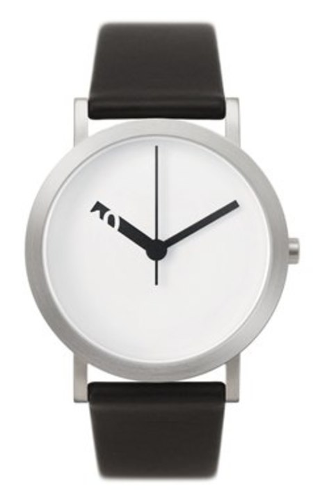 Extra Normal Timespieces Grande EN21-L20BL Watch - Black/White