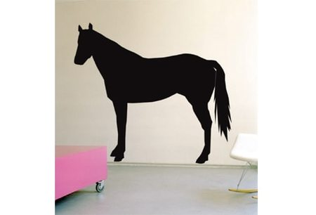 DOMESTIC HORSE WALL STICKER
