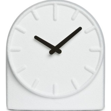 LEFF AMSTERDAM TABLE CLOCK FELT 2 - WHITE/BLACK HANDS