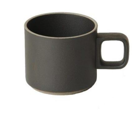 Hasami Porcelain 11 oz Mug (Set of 2) - Black