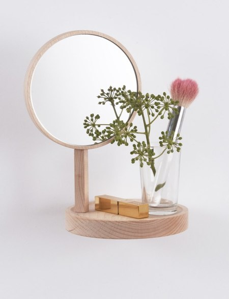 Moustache Belvédère shelf with mirror