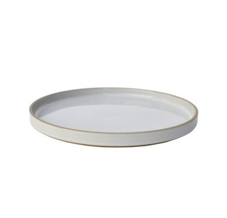 Hasami Porcelain Plate w/Lid (Set of 2) - Gloss Grey
