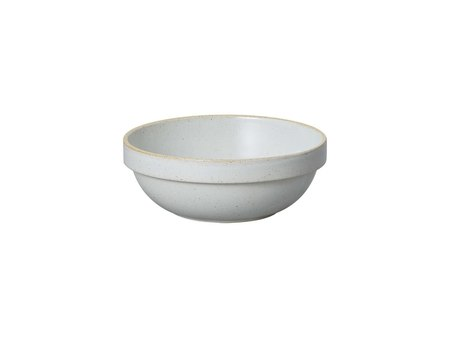 Hasami Porcelain Round Bowl (set of 2) - Gloss Grey