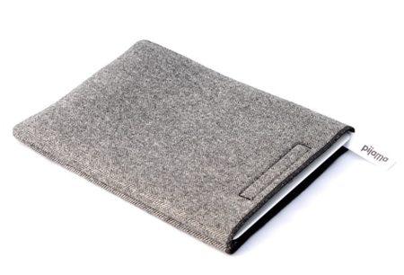 Pijama iPad Case - Black/White Herringbone