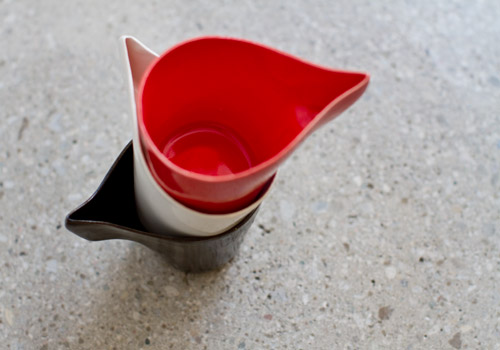 Hannah June Curl Cup - Red