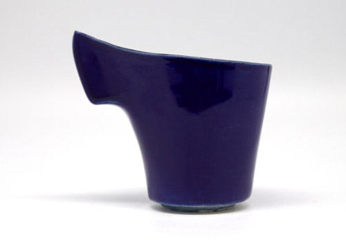 Hannah June Curl Cup - Royal Blue