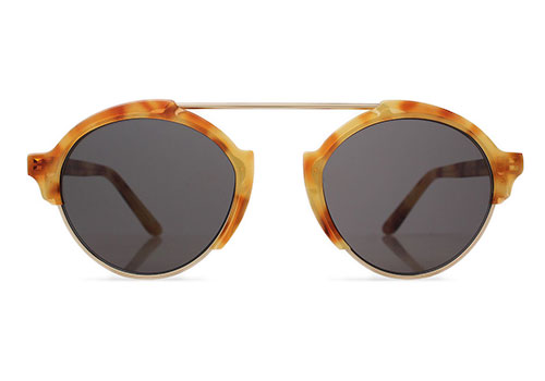 Illesteva Milan 3 Amber Sunglasses