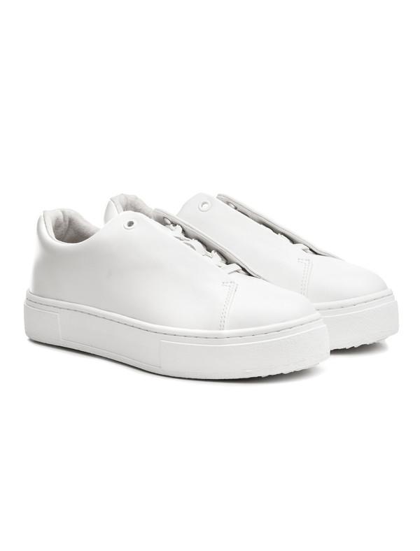 Eytys Doja Leather White | Garmentory