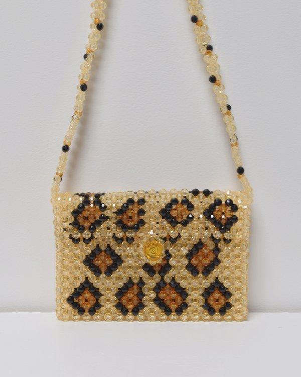 Susan Alexandra Rawr Crossbody Bag - Leopard