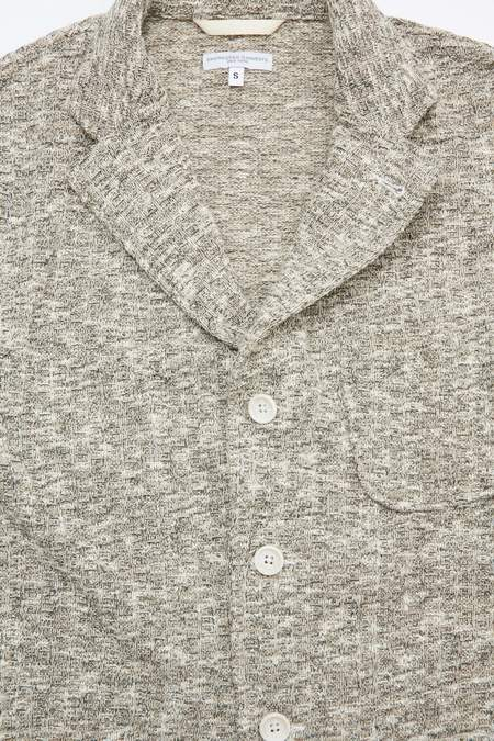 Engineered Garments Sweater Knit Jacket - Tan Heather