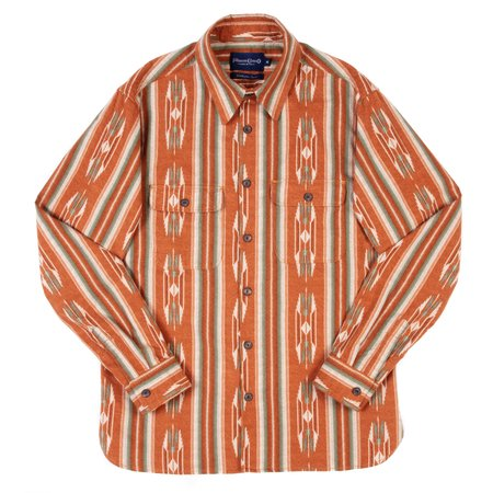 Freenote Cloth Benson Shirt - Sunset