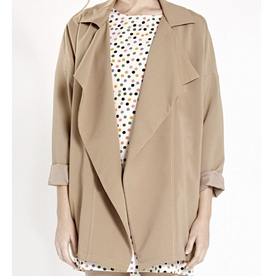 COMPANIA FANTASTICA - LONDON BEIGE TRENCH