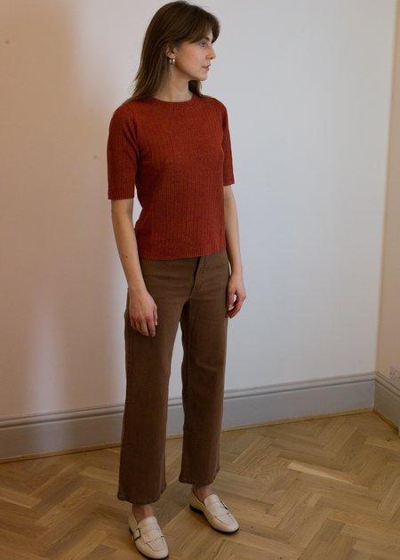 Rachel Comey Pennon Pant - Chestnut Denim
