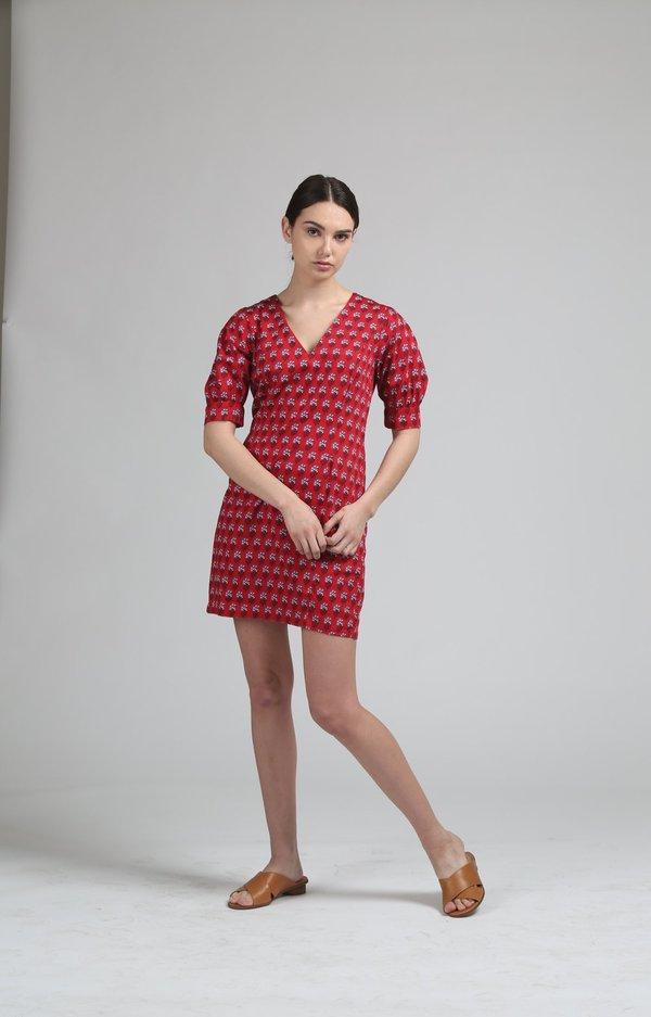 People Tree Esther Print Midi Dress