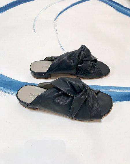 Samuji Knot Sandals - Dark Navy