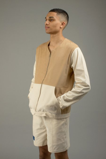 North Hill CORDUROY JACKET - Off White/Camel