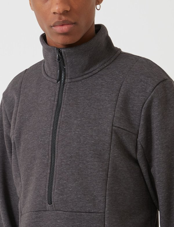 The North Face Quarter Zip Sweatshirt - Medium Grey
