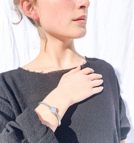 JACQUELINE ROSE core inlay bracelet - pearl