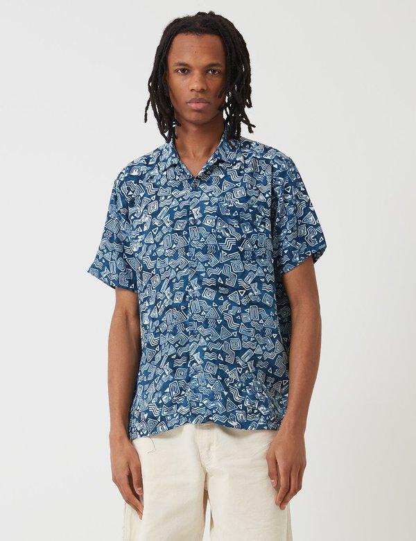 pretty nice bee74 c671a Stan Ray Tom Tom Batik Shirt - Indigo on Garmentory